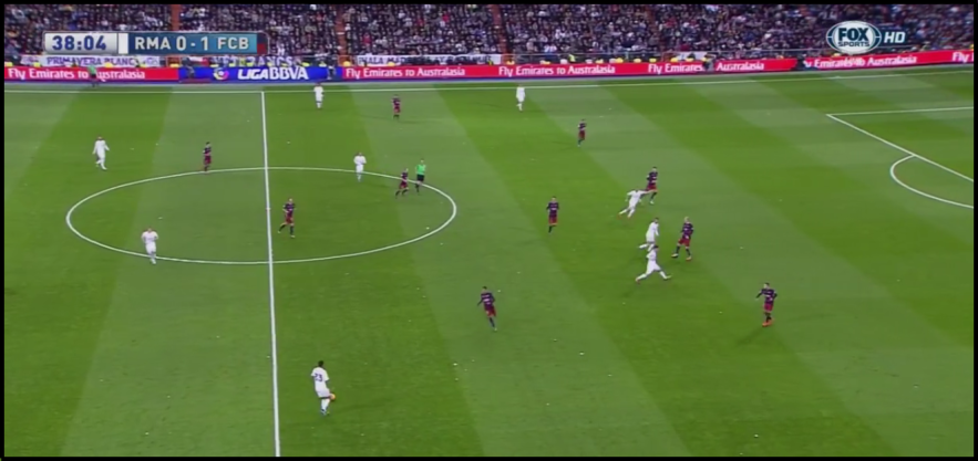A disconnected Madrid attack made ball circulation impossible