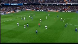 Kroos was frequently able to find space int he center of the field to create
