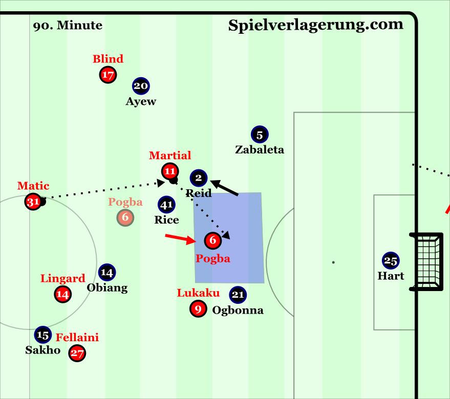 Pogba's goal